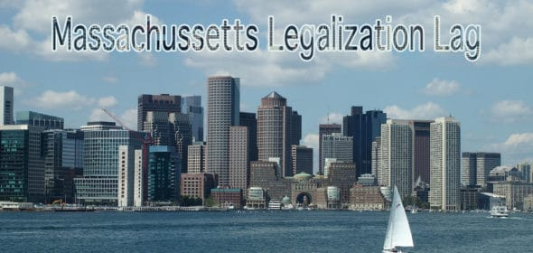why is Massachusetts legalization behind schedule?