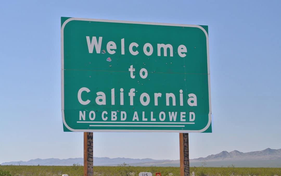 California Bans CBD Oil
