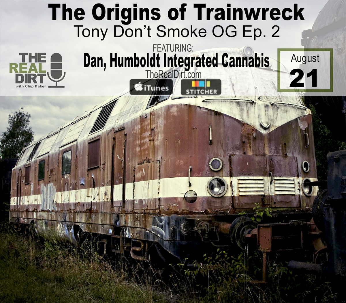 where did the strain trainwreck come from?