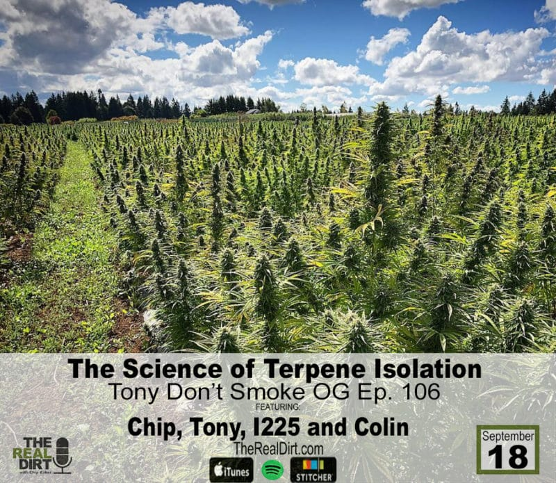 isolating terpenes in california