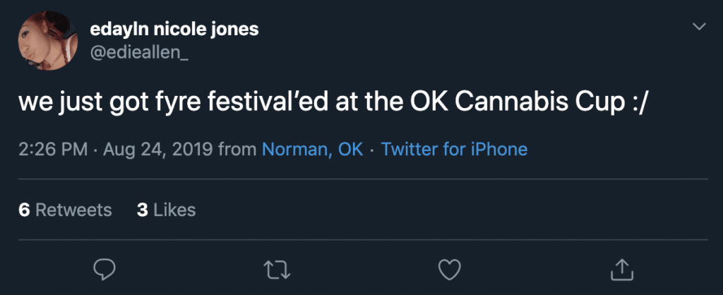 high times cannabis cup in oklahoma was another fyre festival