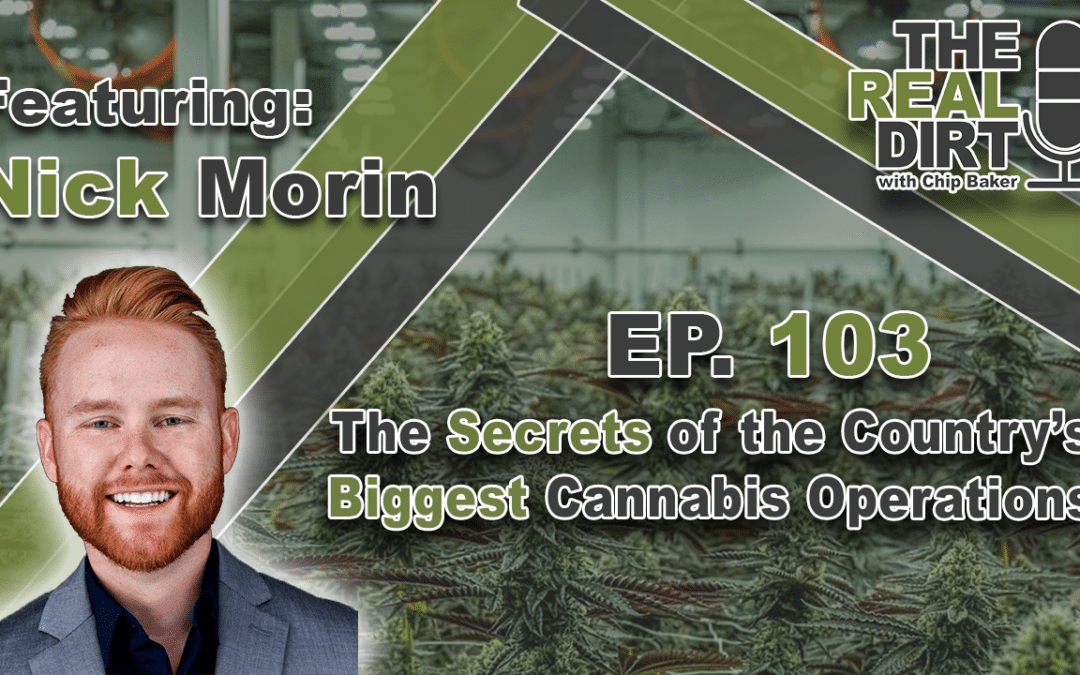 The Secrets of the Country's Largest Cannabis Operations with Nick Morin