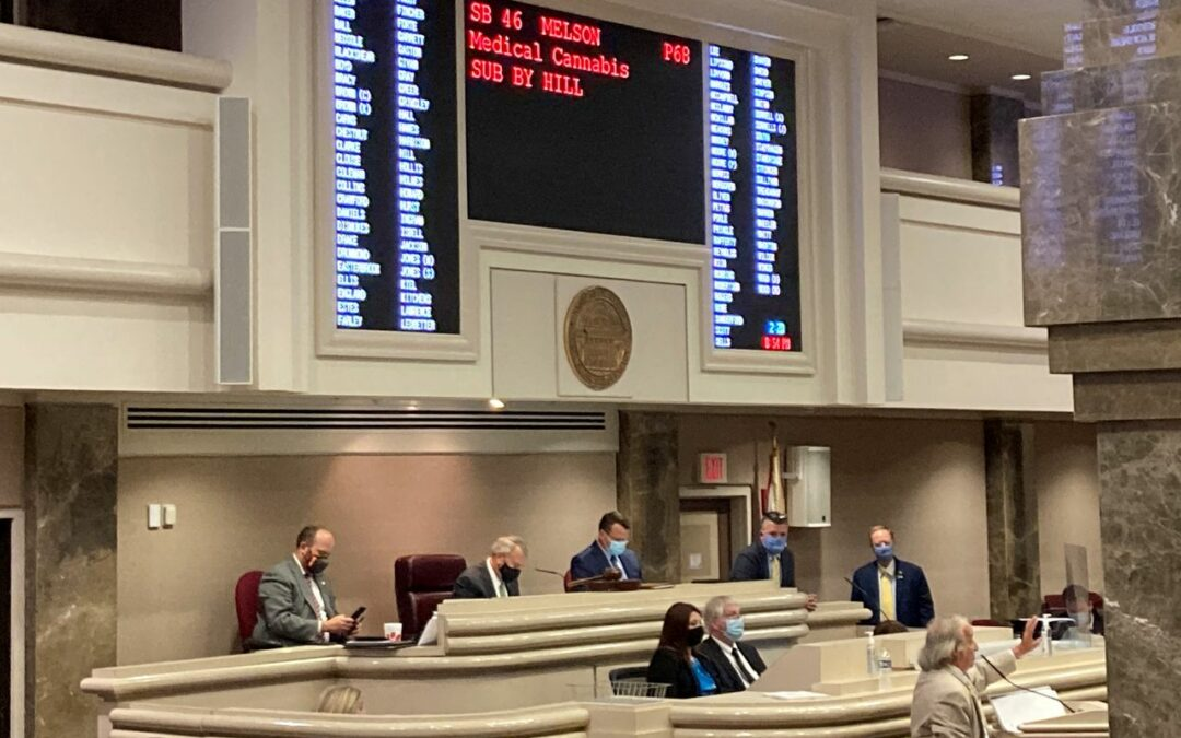 Alabama House takes no vote on medical marijuana after 9-hour debate