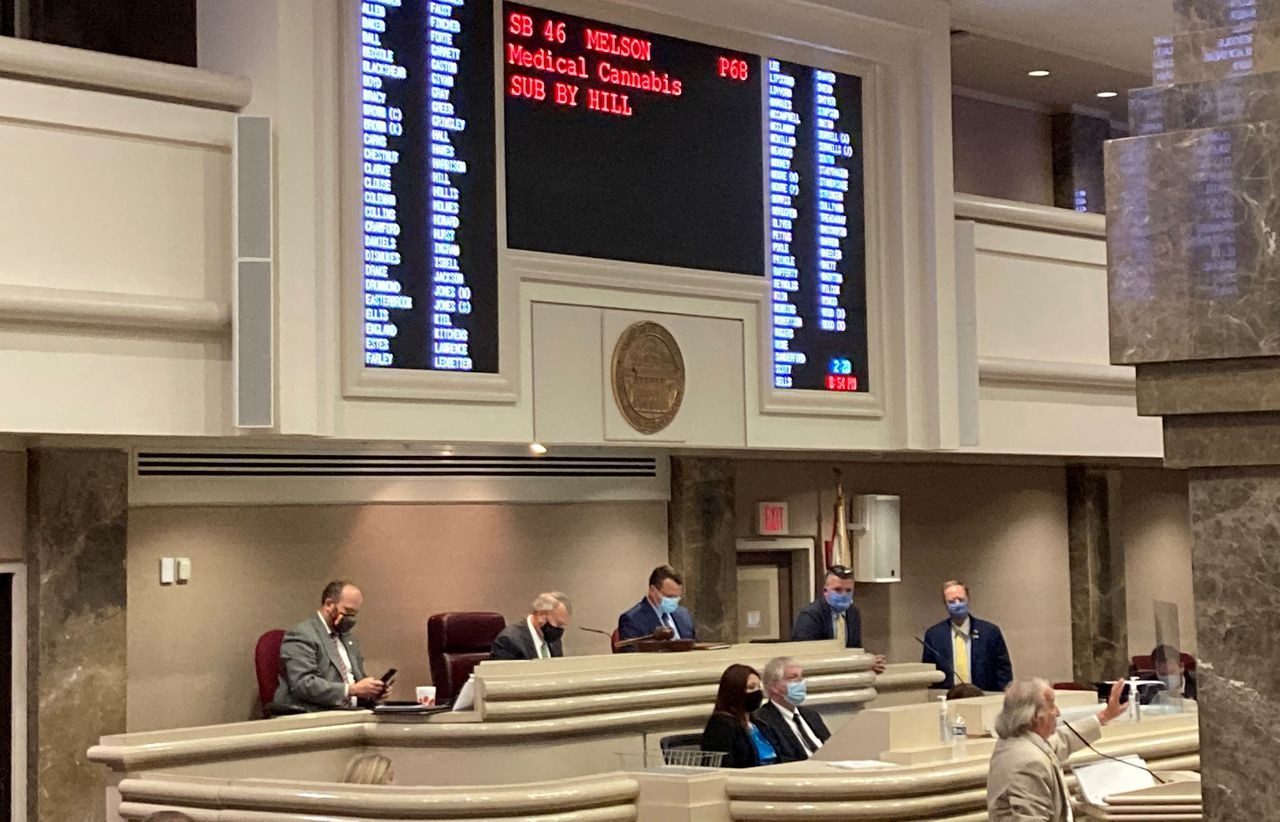 Alabama medical marijuana fails to pass in the House